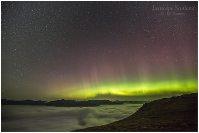 not only the aurora, but a temperature inversion too