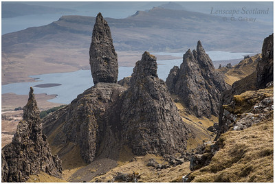 the Old Man of Storr on the Trotternish peninsual, Skye