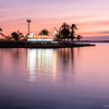 Cienfuegos at sunset