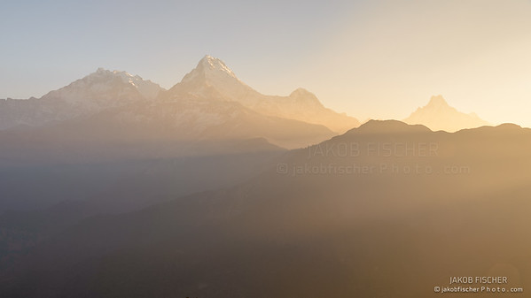 Annapurna at sunrise