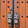 Knights in Armour door handles