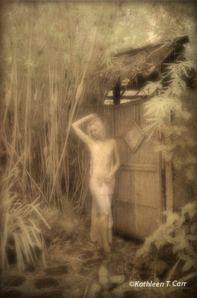Nude at Gate