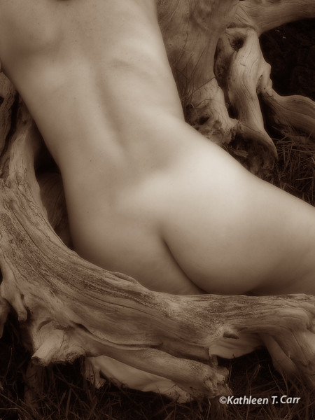 Nude and Tree