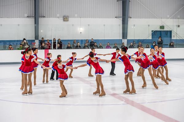 B1 Synchronized Skating Team