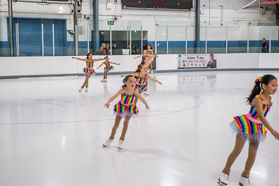 B2 Synchronized Skating Team