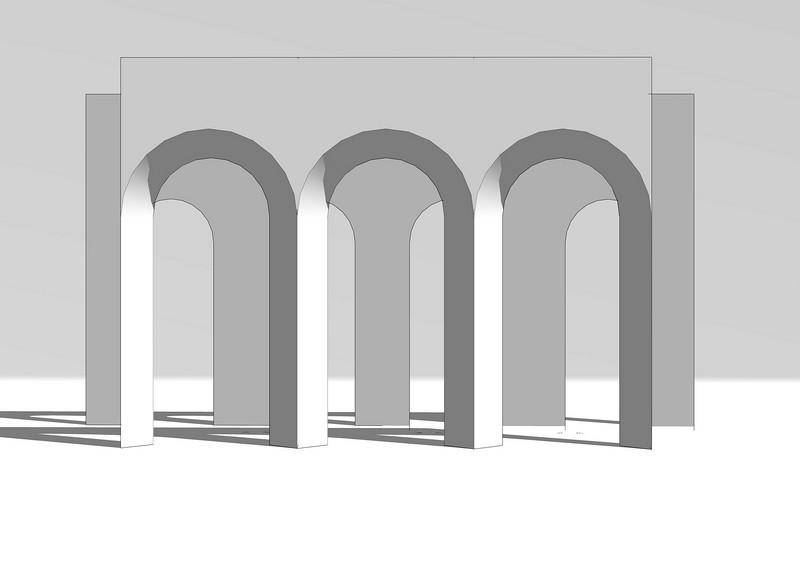 SET DESIGN   SketchUp<br /> Commercial: Boniva