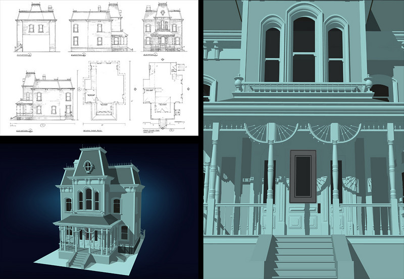MODELING EXERCISE | SketchUp<br /> Teaching at the Los Angeles Film School