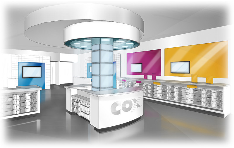 SET DESIGN | SketchUp/Photoshop<br /> Commercial: Cox Communication