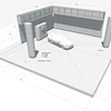 SET DESIGN | SketchUp<br /> Commercial: Nissan