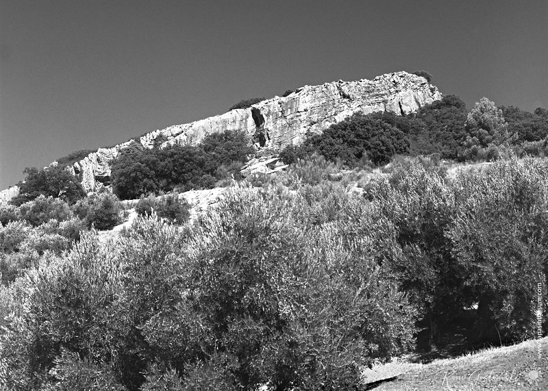 Sierra Caracolera - rock outcrop