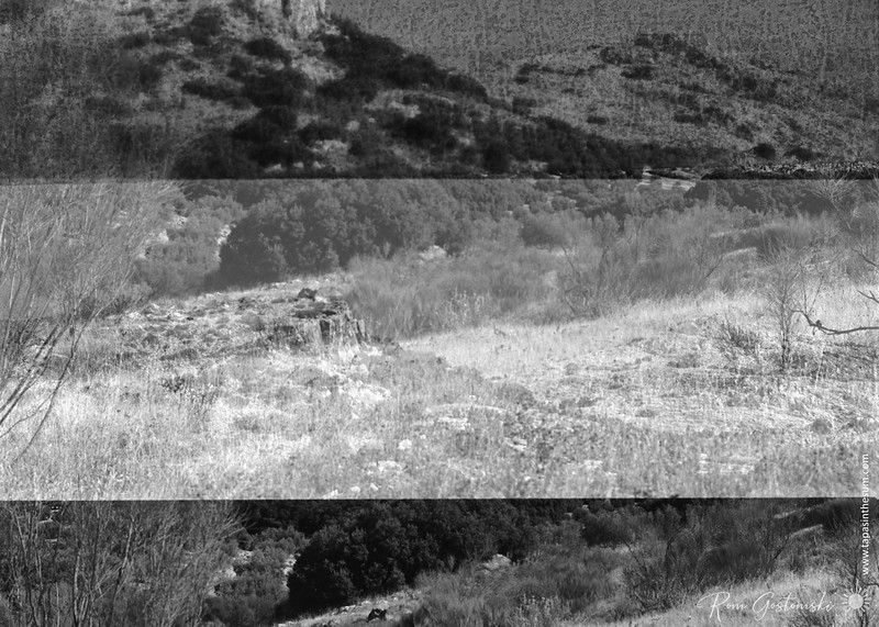 Overlapping frames - Sierra Caracolera