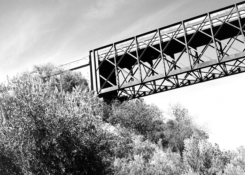 Viaduct on the Via Verde