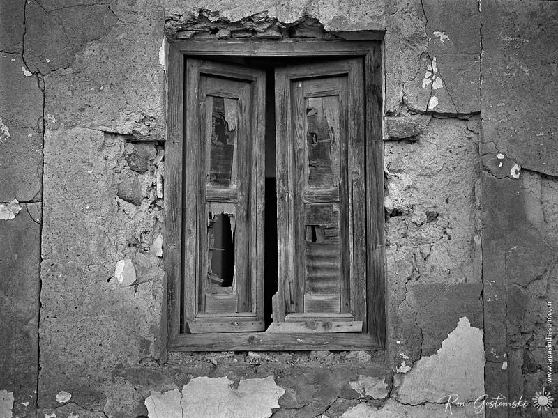 Old window shutters