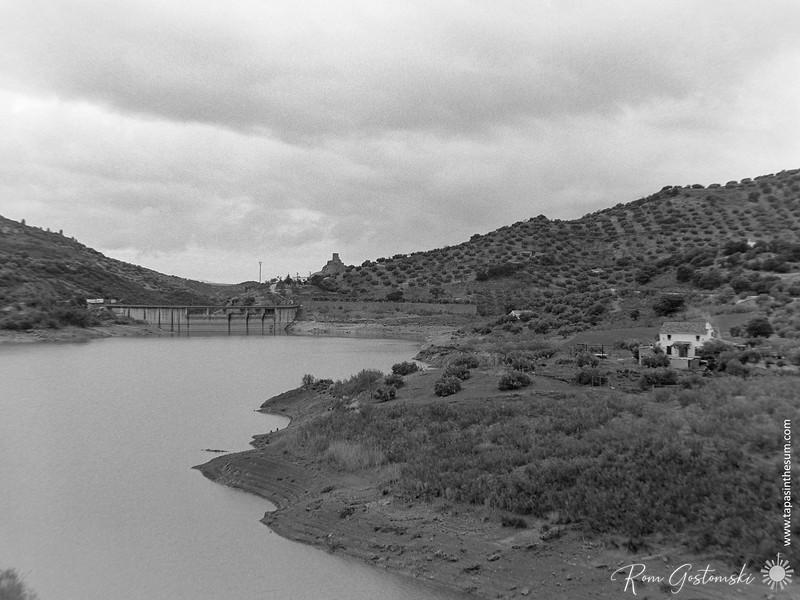 The Viboras reservoir