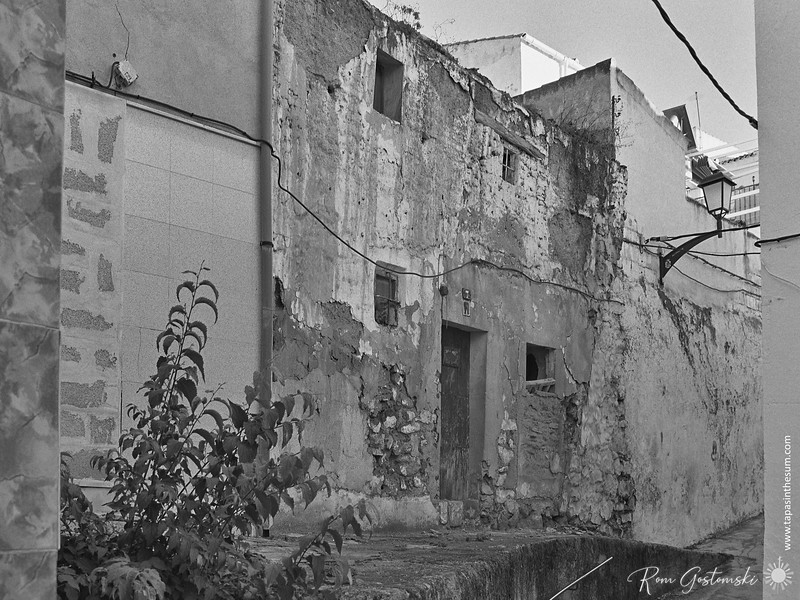 Abandoned town house, Alcaudete