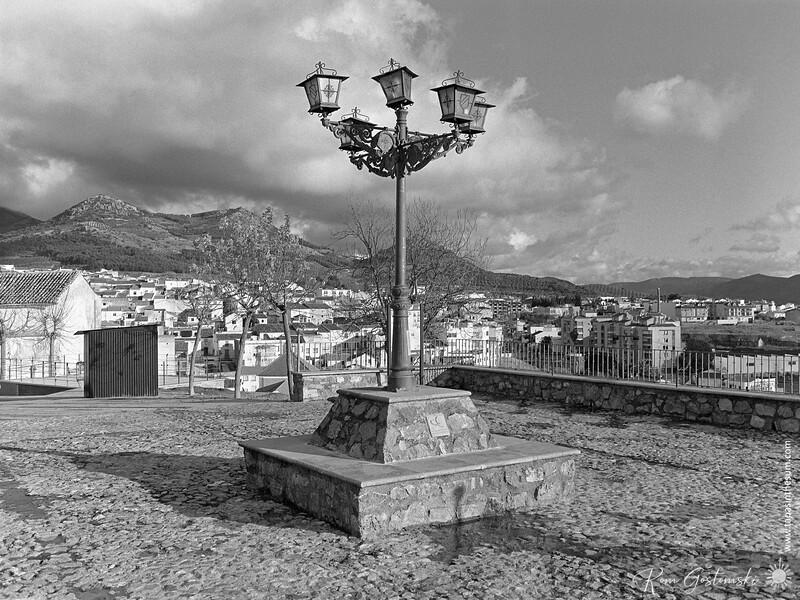 """Mirador """"Santa María"""", Alcaudete"""