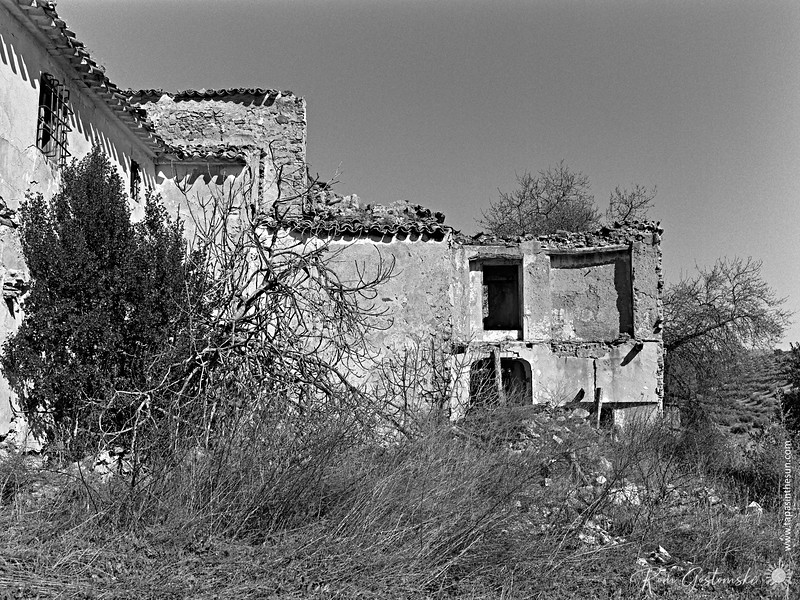 Around the back of the abandoned cortijo