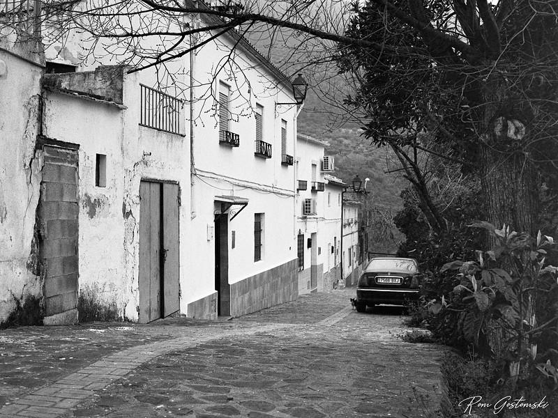 A quiet village street