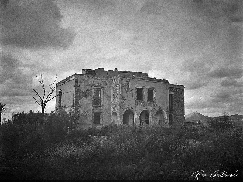 The abandoned cortijo