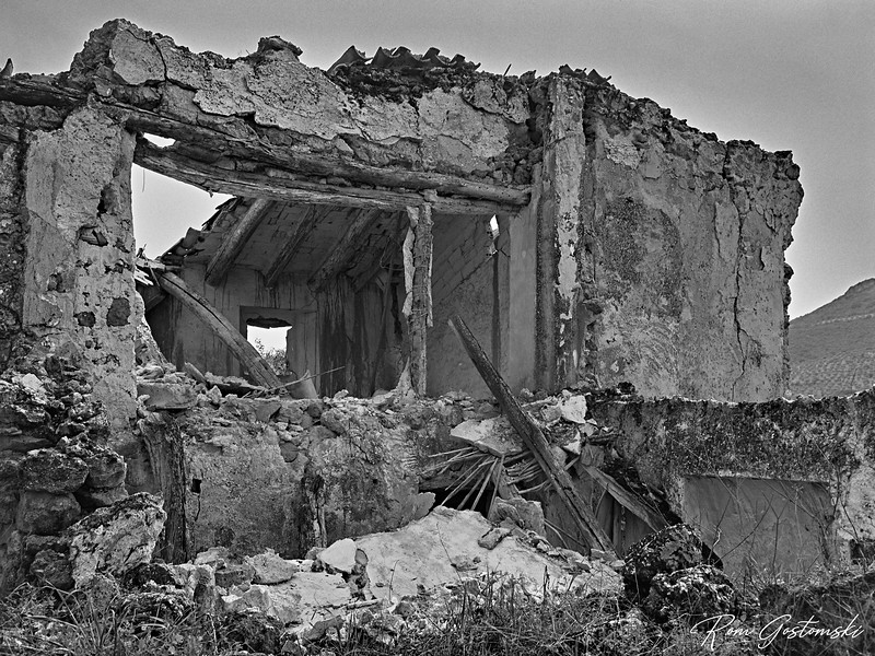 The abandoned cortijo
