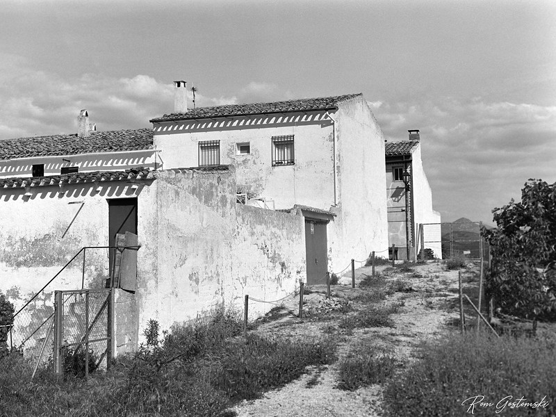 The end of terrace village house