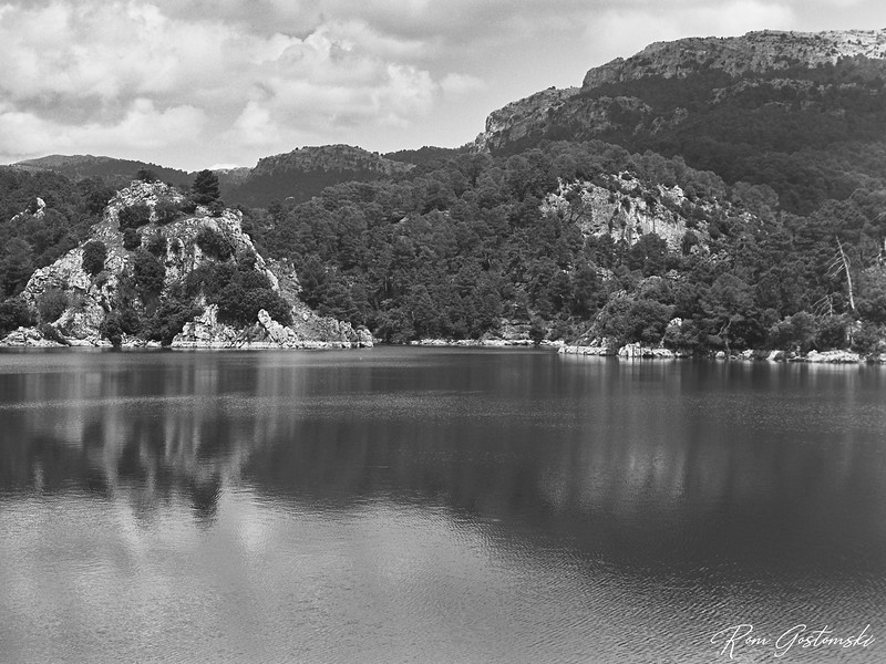 Aguascebas reservoir