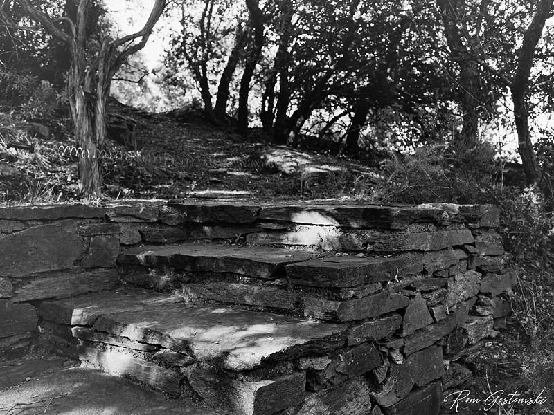 Steps leading to the Alpujarras
