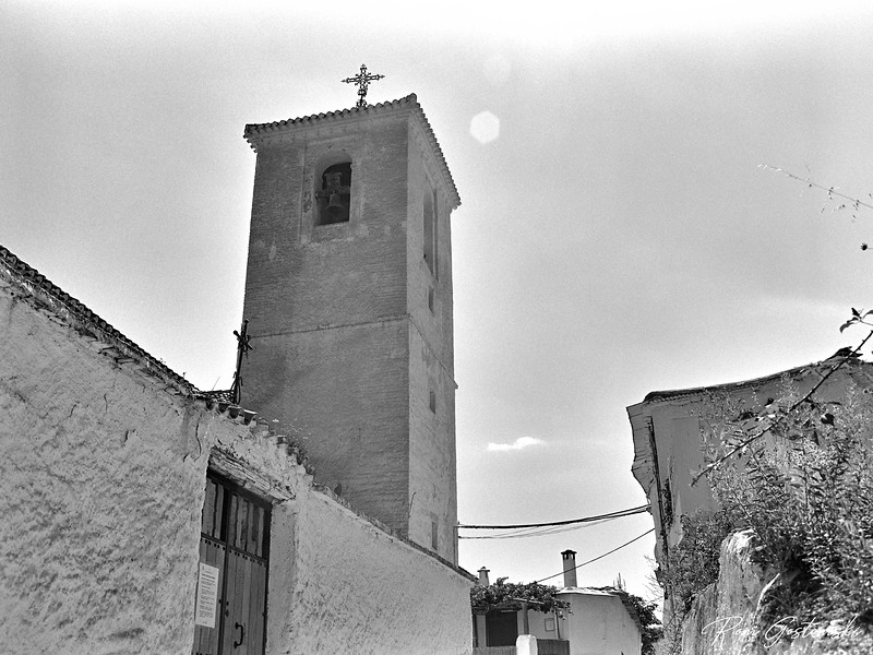 The church in Ferreirola
