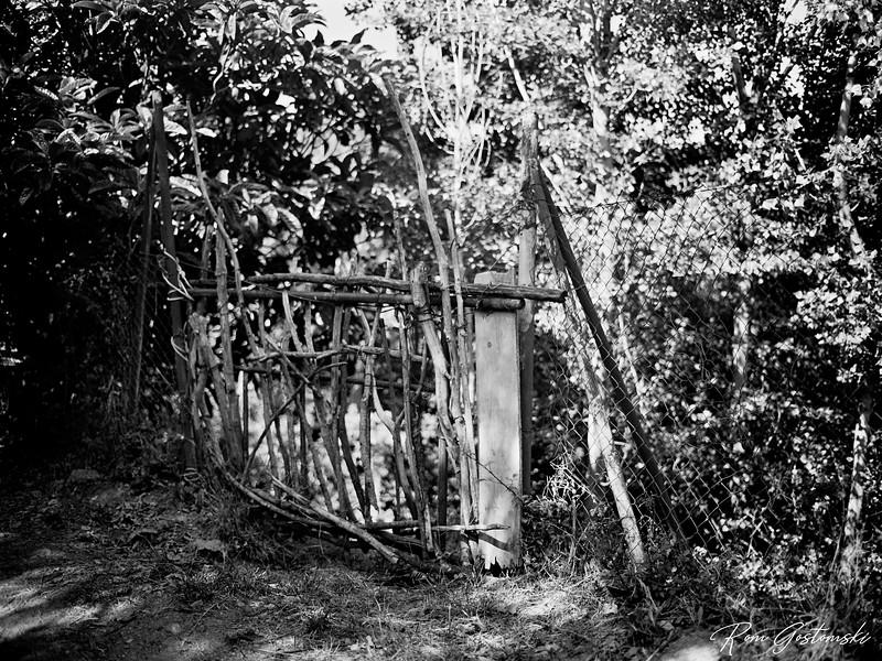 A gate in the Alpujarras