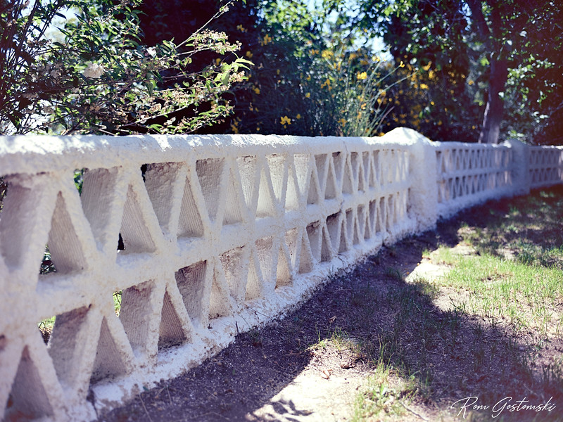 Traditional  wall in the Alpujarras