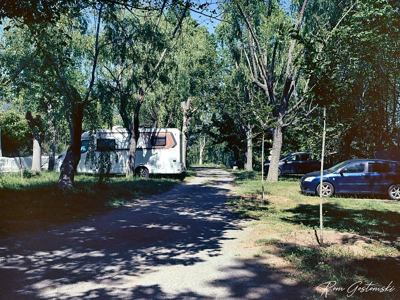 Balcon de Pitres campsite
