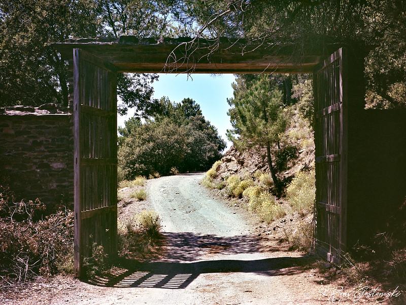 The entrance to Cortijo Prado Toro
