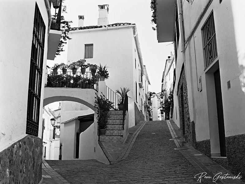 Narrow streets in Jubrique