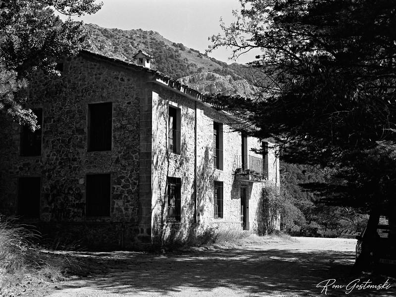 Abandoned forest ranger's house