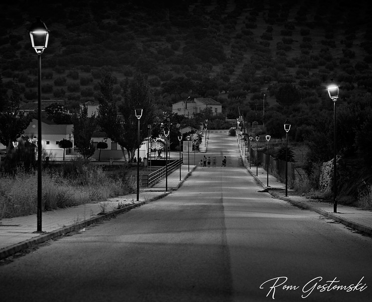 The evening stroll