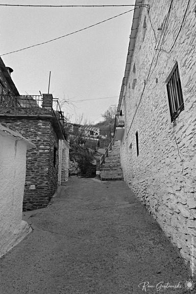 A street in Pampaneira