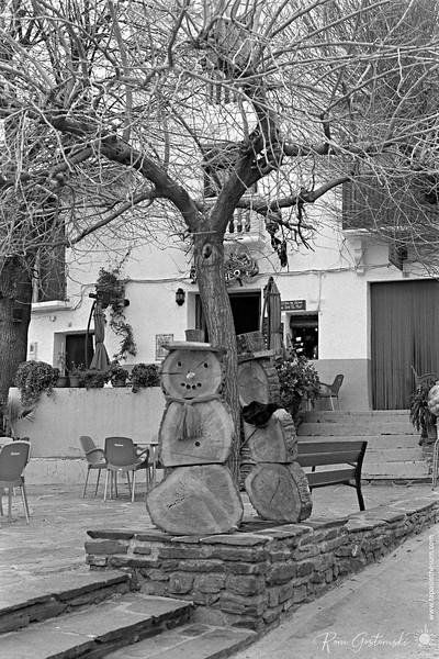 Plaza Calvario, Capileira
