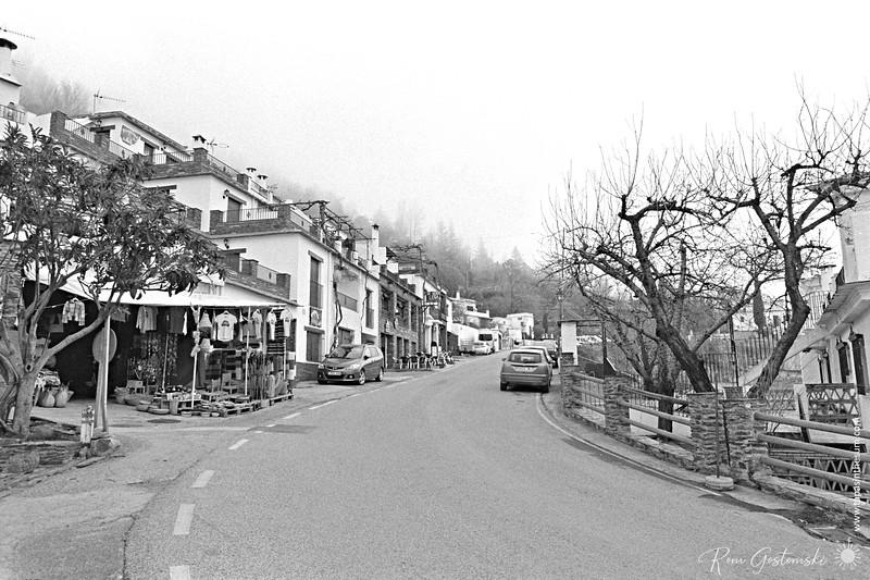 The main road through Capileira