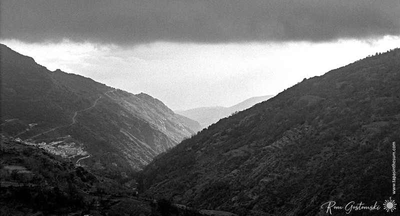 Light at the end of the Poqueira valley
