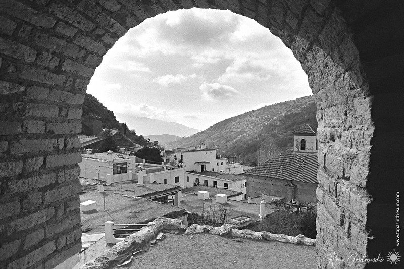 Through the arch - The view from the lavadero