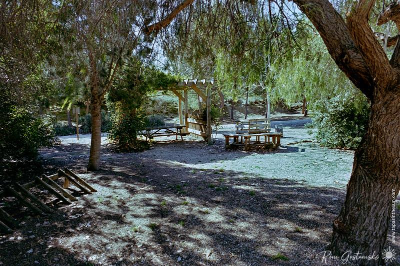 Picnic site on the Via Verde