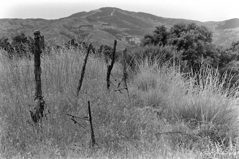 Make-shift fence