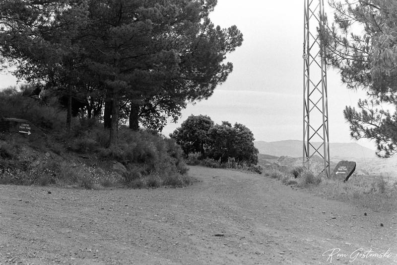 The track leading to Cortijo Prado Toro
