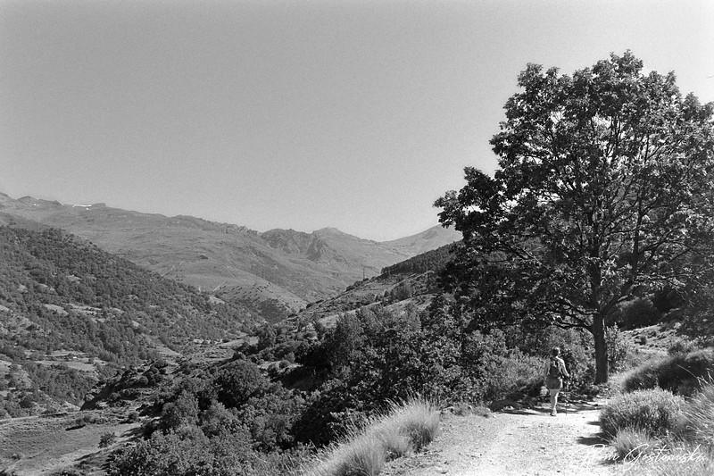 The Poqueira valley - walking towards La Cebadilla
