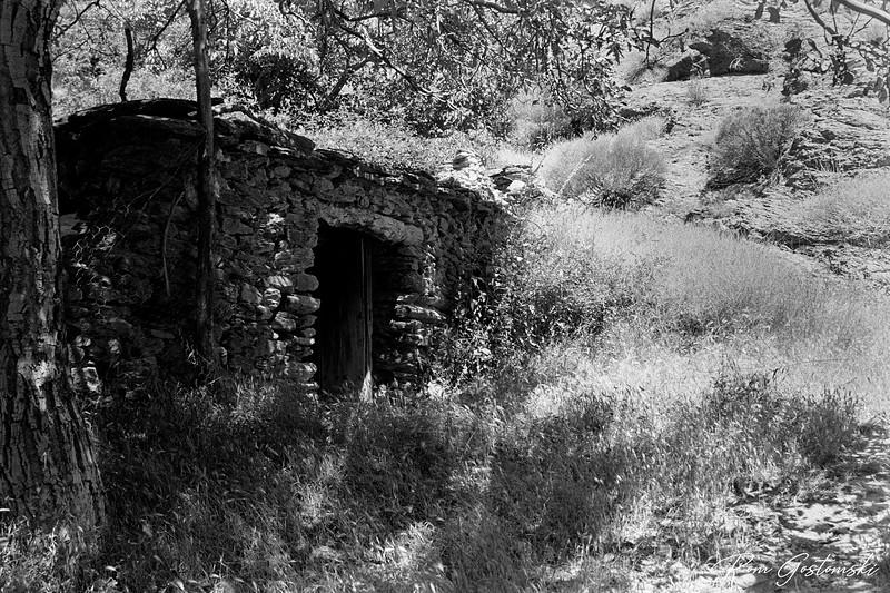 An abandoned cortijo