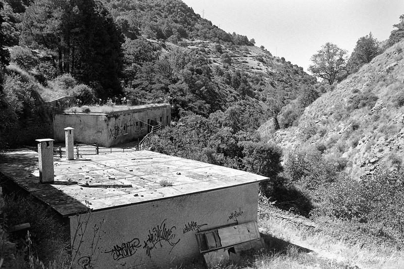Abandondoned buildings in La Cebadilla