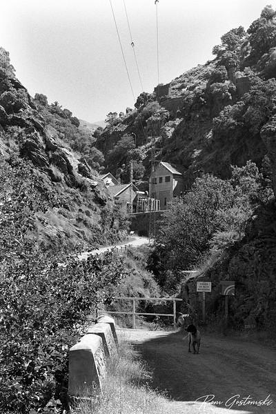 The Poqueira Hydroelectric Power Plant in La Cebadilla