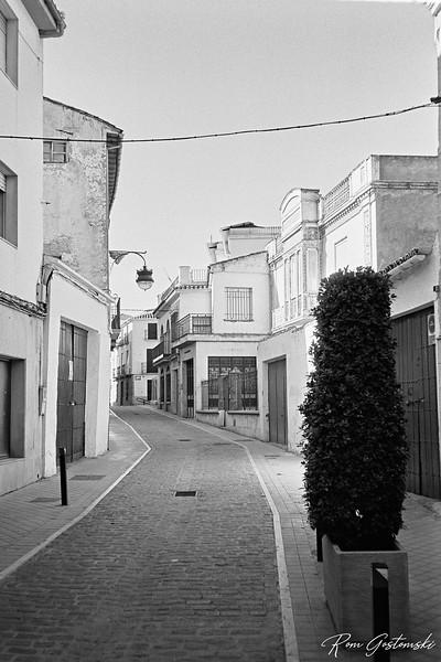 A street in Alcaudete