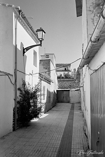 An alley in Alcaudete
