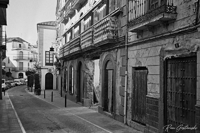 Alcaudete - An old building being rebuilt